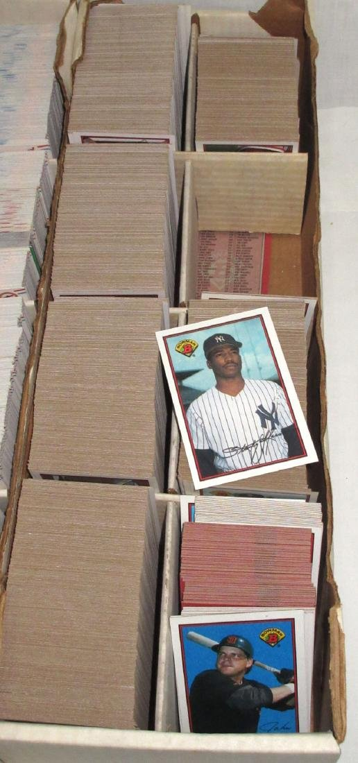 3 Boxes Baseball Cards - 4