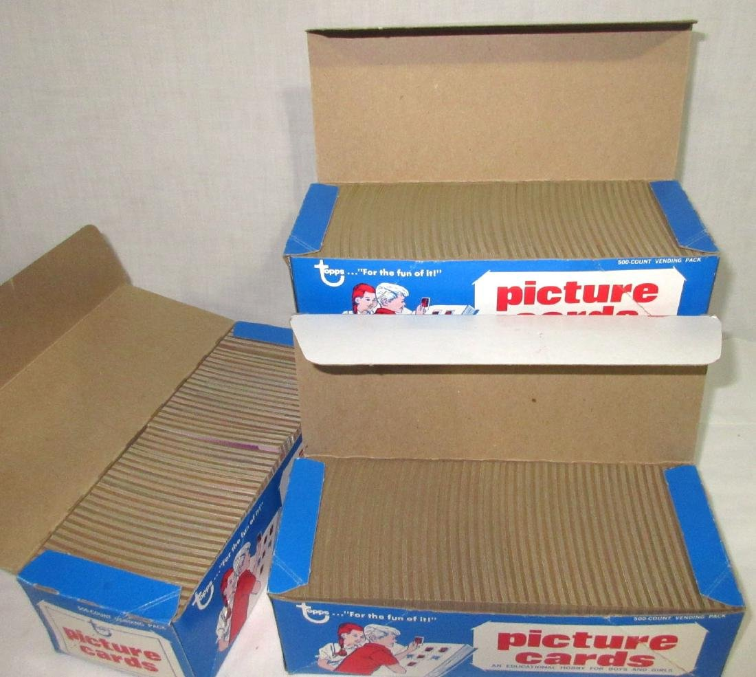 3 Factory Boxes 1990 Topps Baseball Cards
