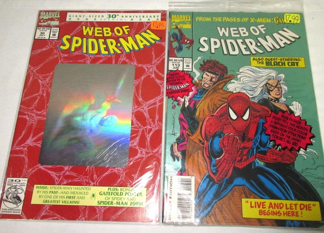 5 Web of Spiderman Comic Mint Unread - 2