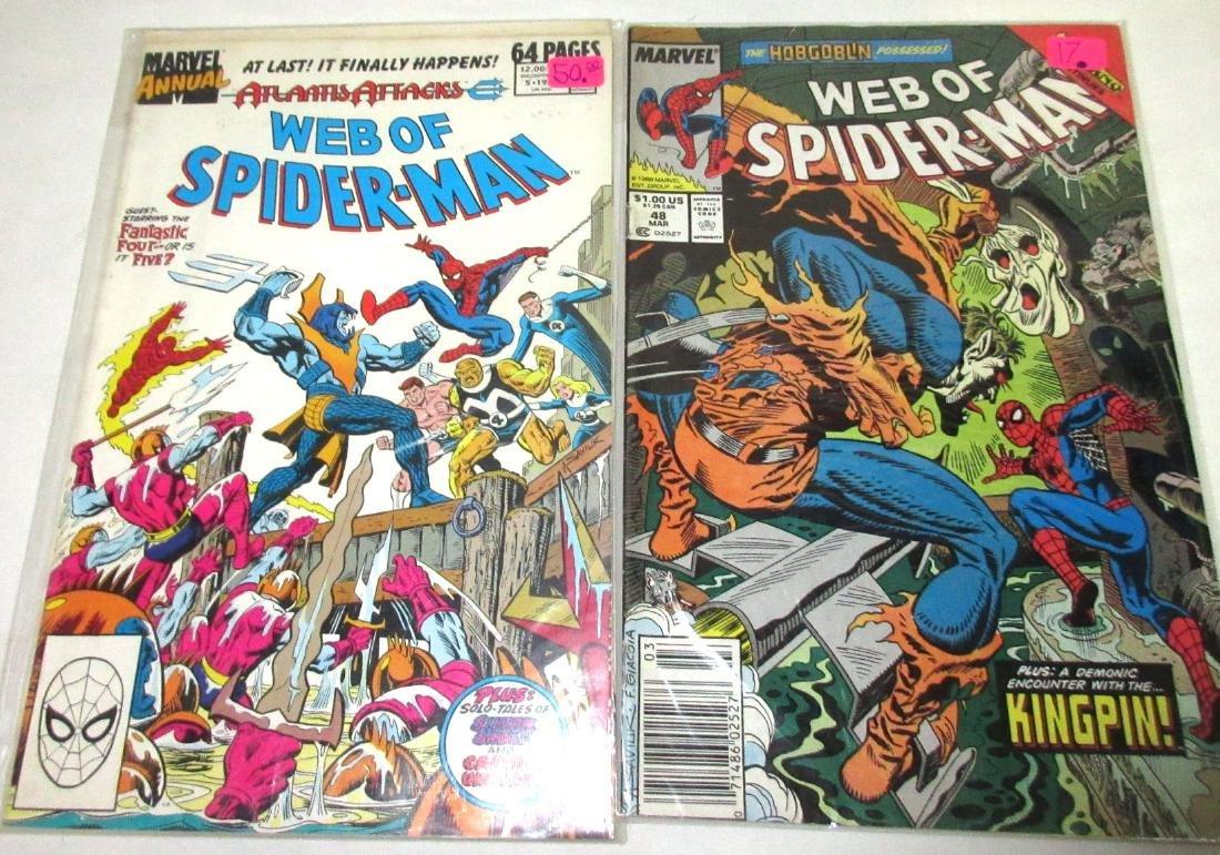 5 Web of Spiderman Comic Mint Unread - 3