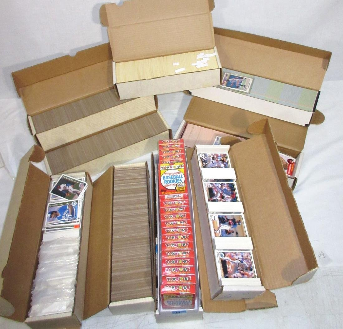 10 Boxes Misc. Baseball Cards