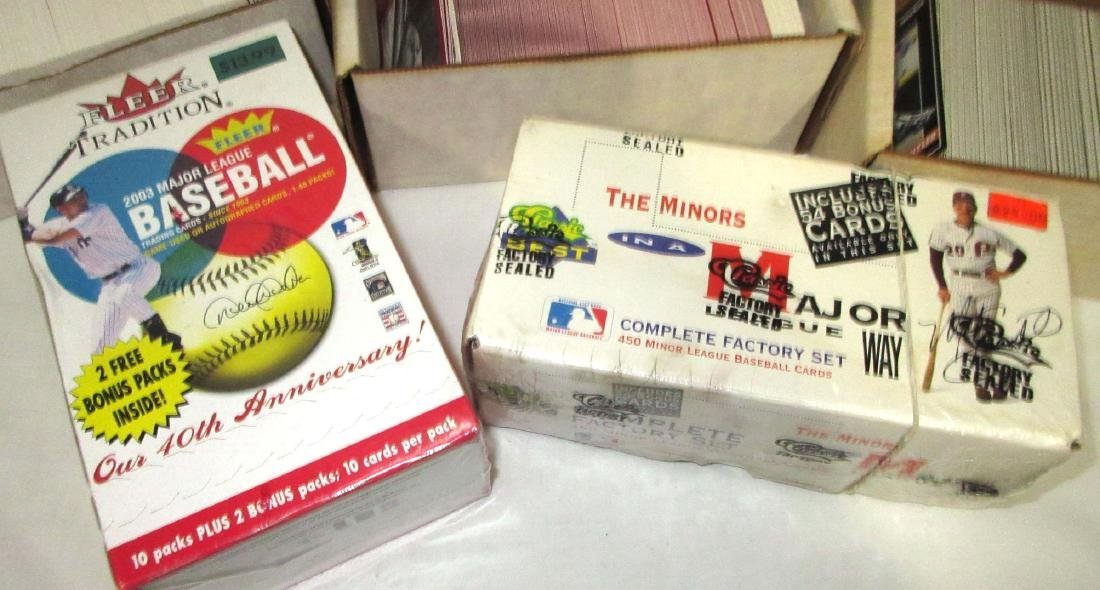 9 Boxes Misc. Baseball Cards - 3