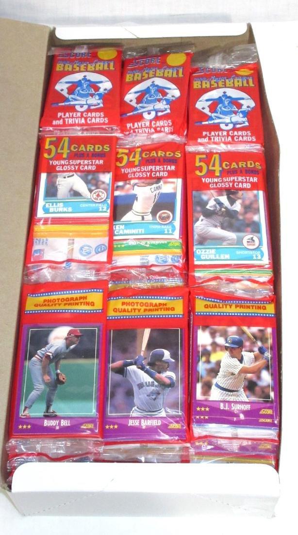 Box 1988 Score Baseball Rak Paks