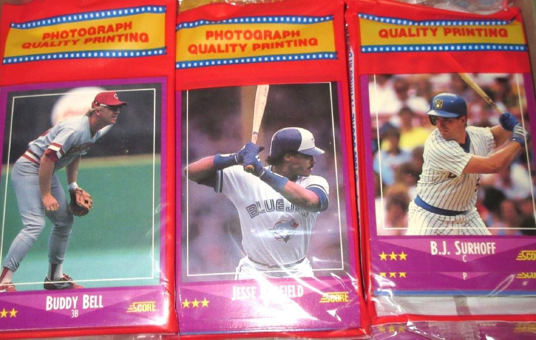 Box 1988 Score Baseball Rak Paks - 2