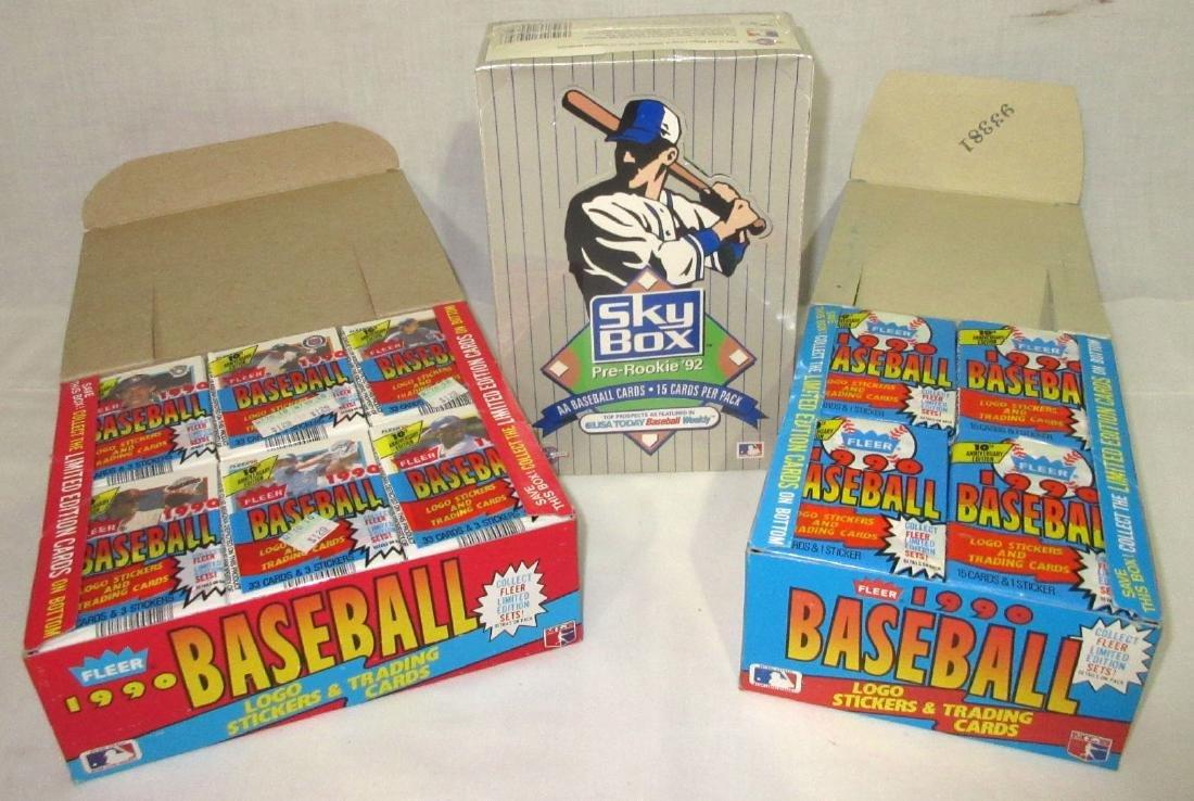3 Factory Boxes Baseball Cards - 2