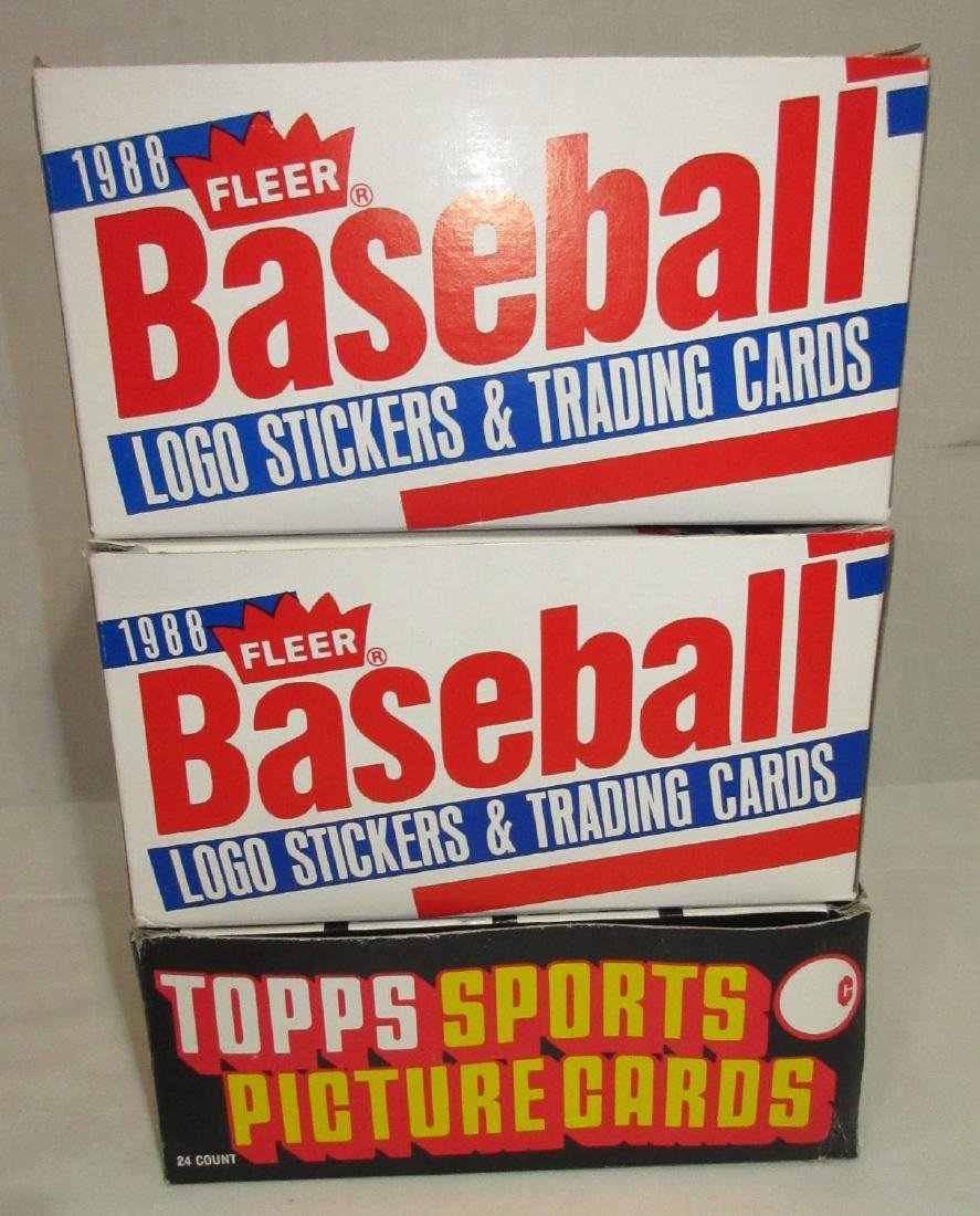 3 Factory Boxes Baseball Cards - 2