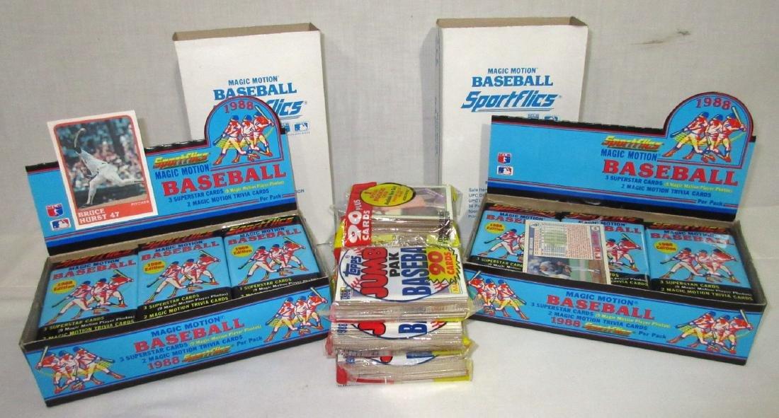 Lot 1988 Topps & Sportflics Baseball Cards