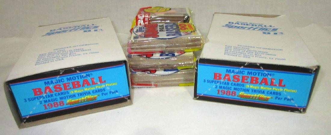 Lot 1988 Topps & Sportflics Baseball Cards - 2
