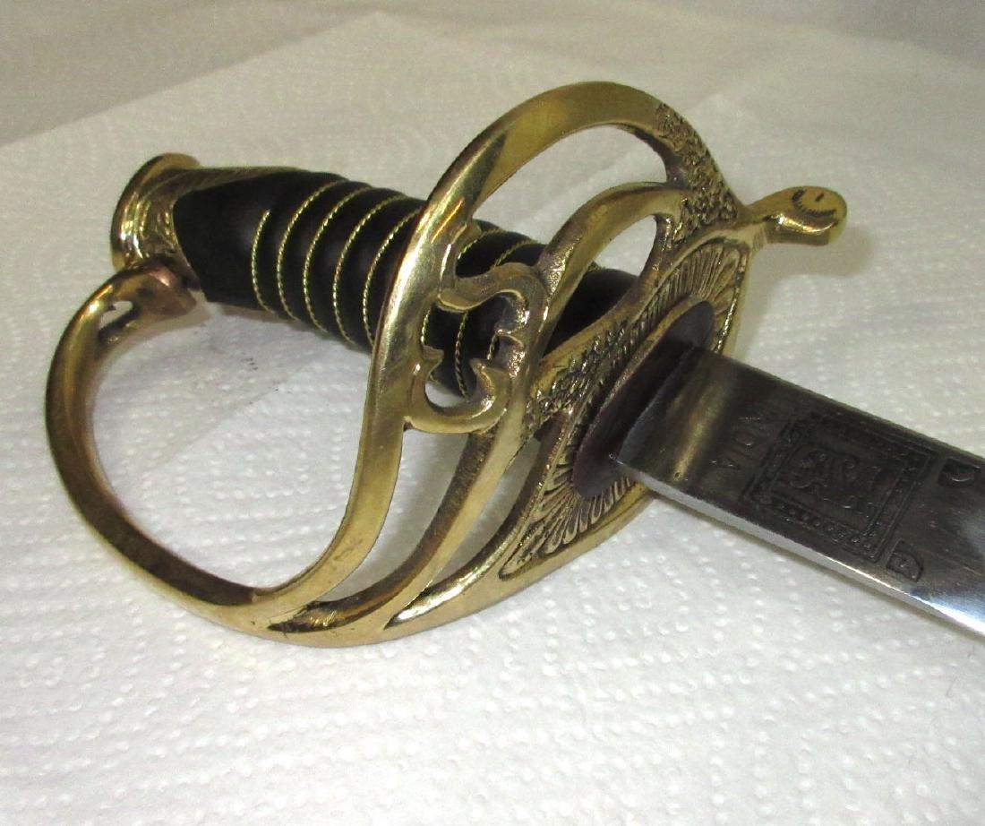 C.S.A. Civil War Reenactment Sword - 2
