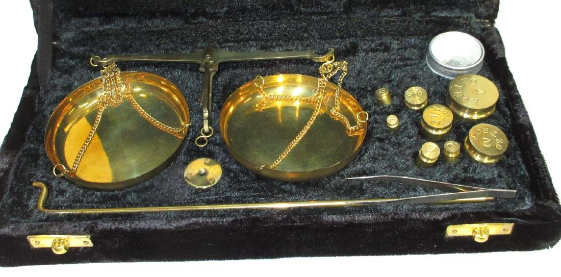 Modern Set of Gold Scales - 2