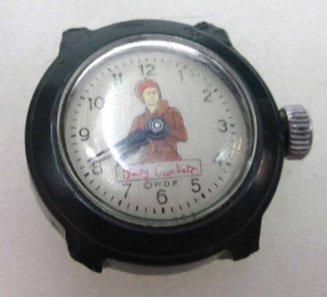 Mickey Mouse, Cinderella, Davy Crocket Wristwatches - 4