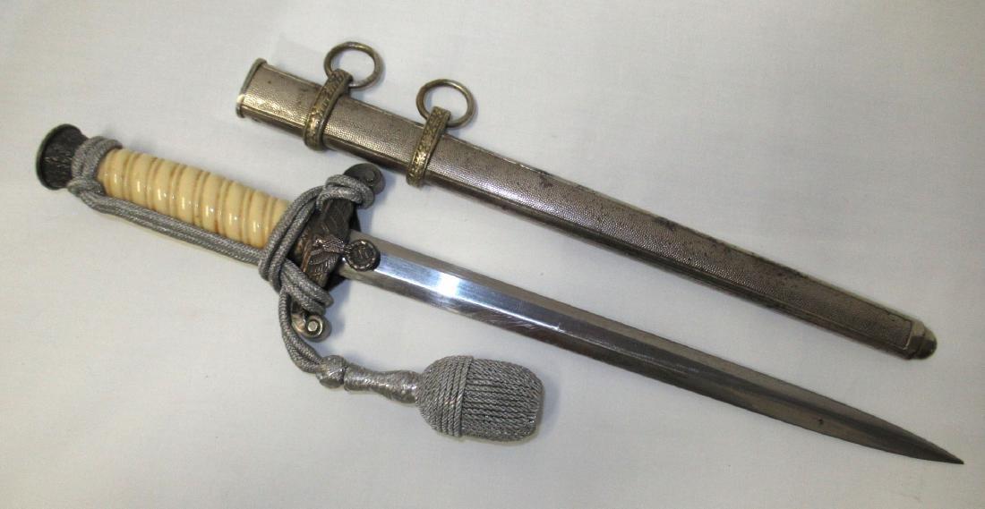 German Army Dagger w/ Portepee