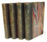 """1829 """"The Writings of Thomas Jefferson"""" Vol 1-4"""