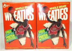2 Boxes Michael Jordan Wheaties Unopened
