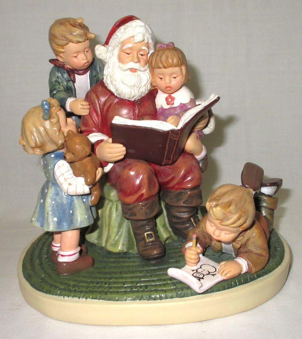 """Hummel """"Story time with Santa"""""""