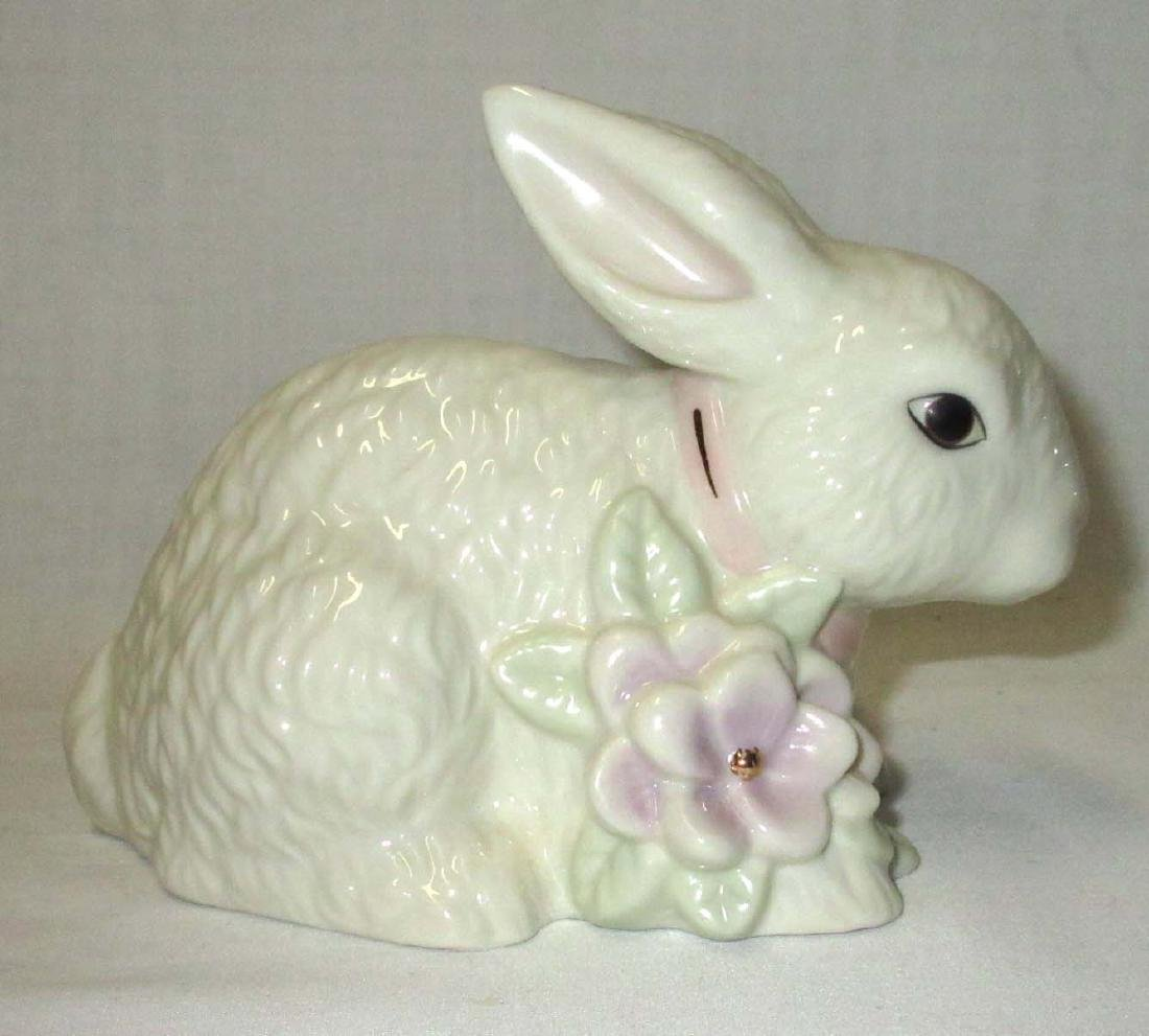 Lenox Sitting Bunny Votive - 2