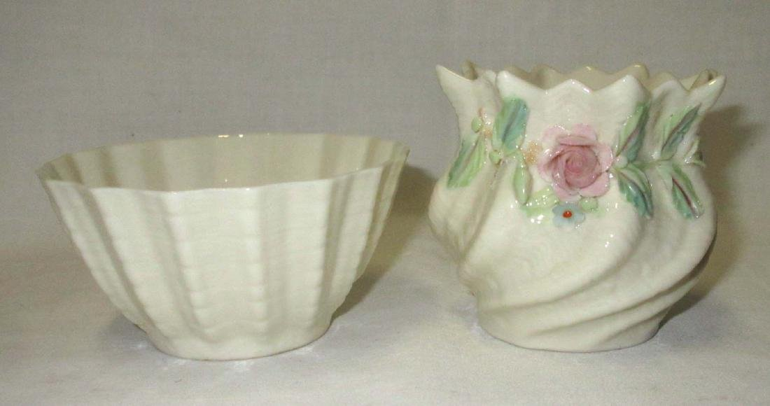 2 Pcs. Of Belleek