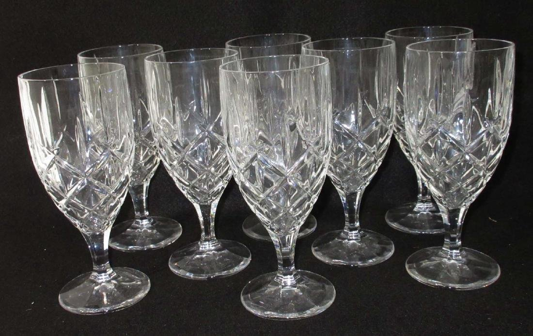"""Set of 8 Waterford """"Marquis"""" Goblets"""