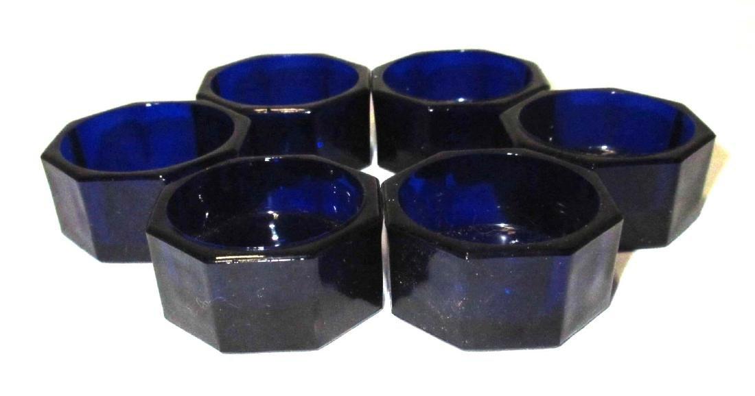Set of 6 Dk. Cobalt Salts