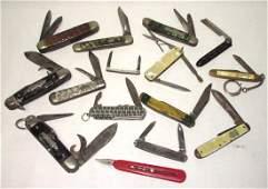 15 Misc. Pocket Knives