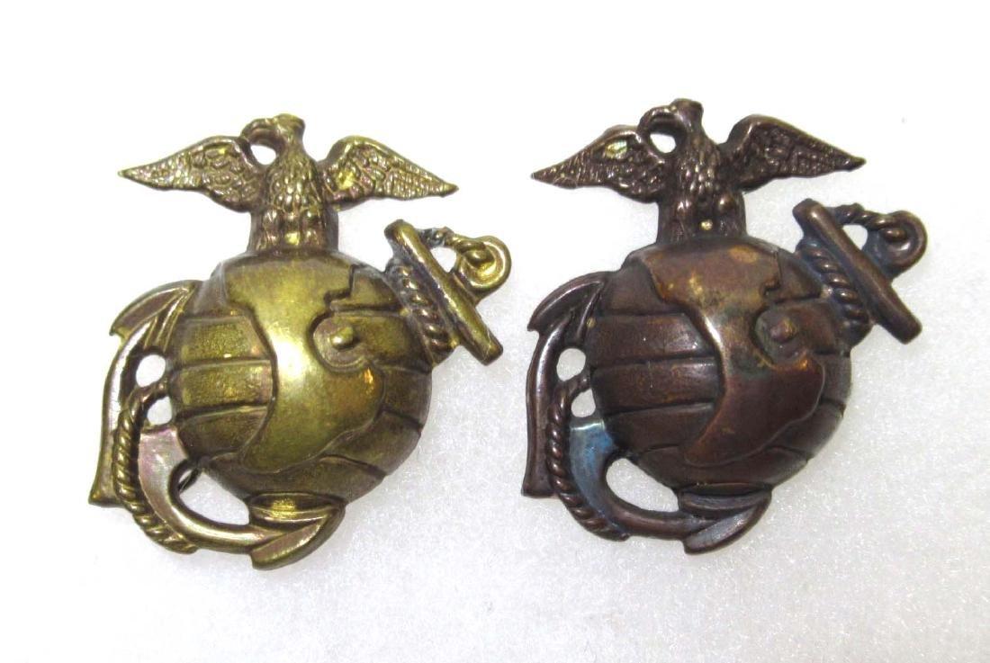 2 USMC Insignias