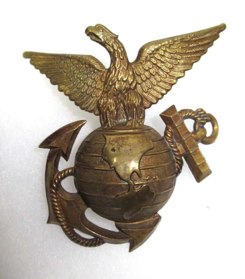 1880's USMC Helmet Insignia