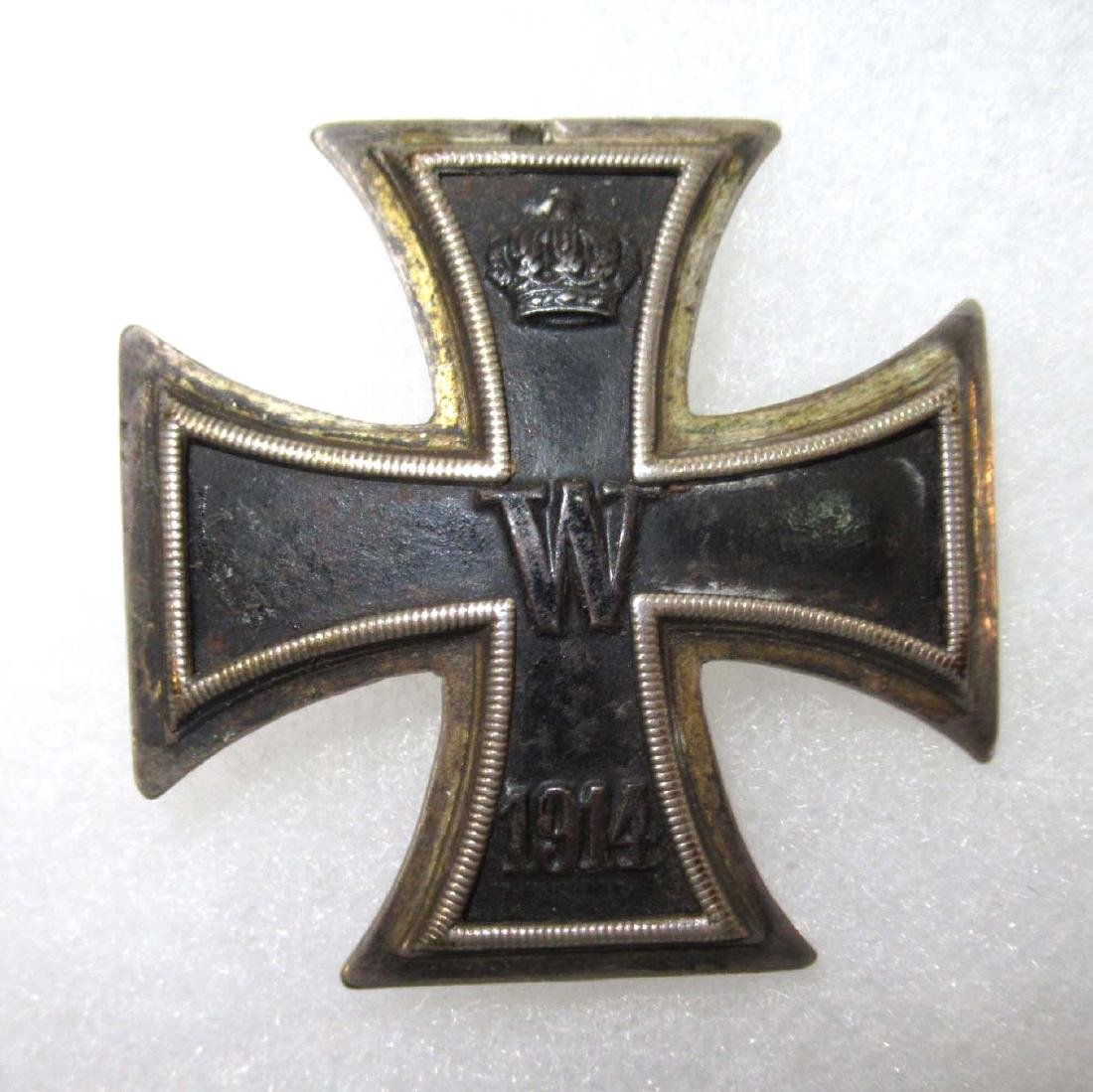 German WW 1 Iron  Cross 1st Class Vaulted