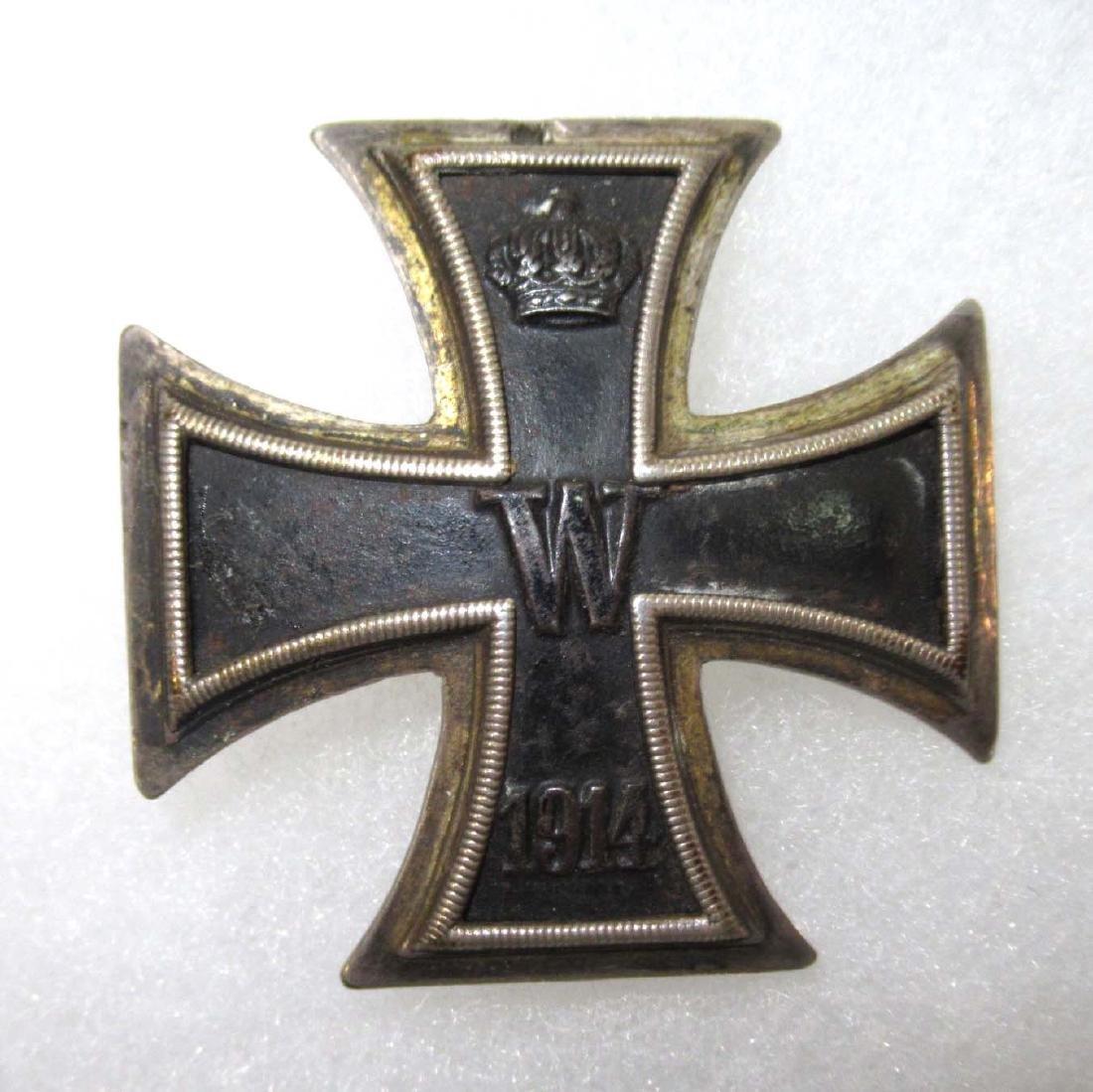 German WW 1 Iron  Cross 1st Class Vaulted