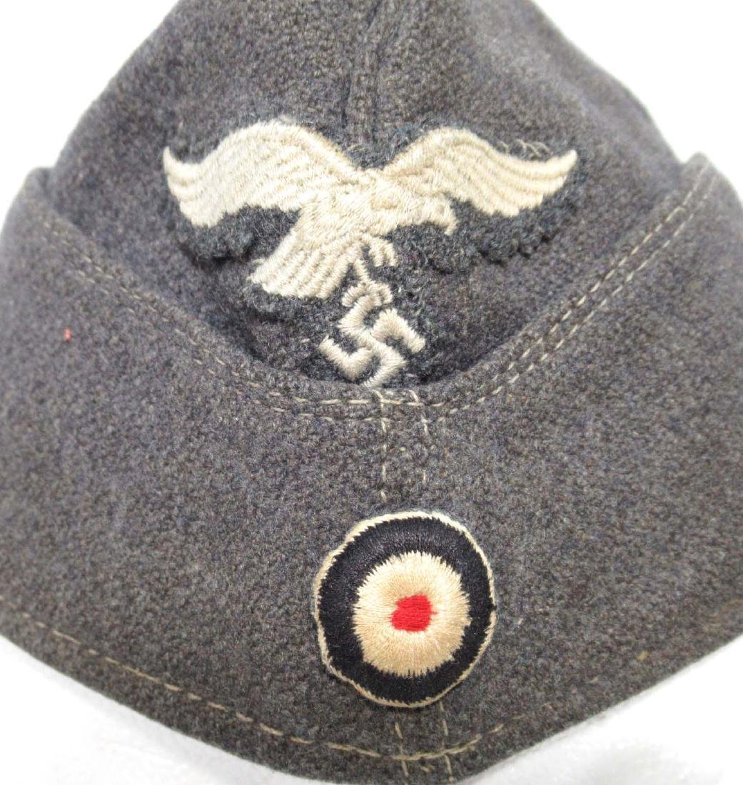 German Luftwaffe Side Cap - 2