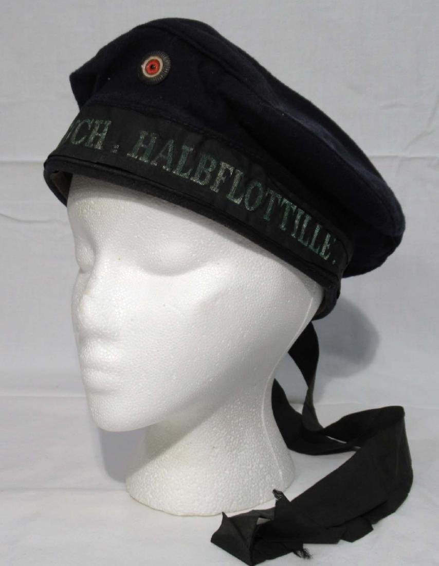 German WW 1 Navy Floatilla Cap