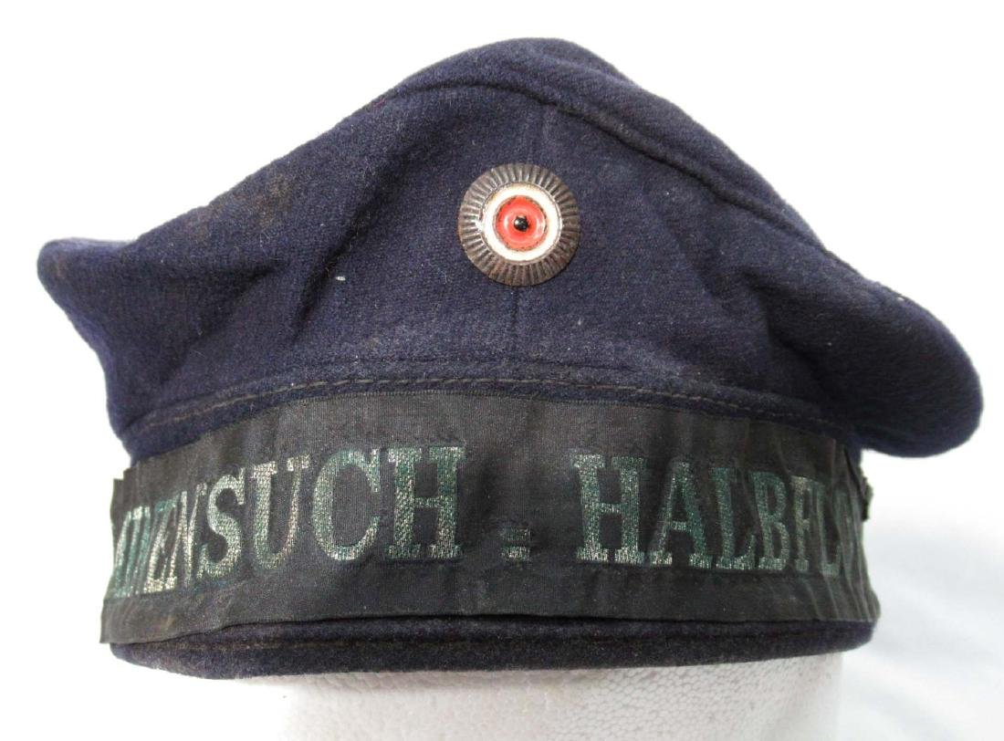 German WW 1 Navy Floatilla Cap - 2