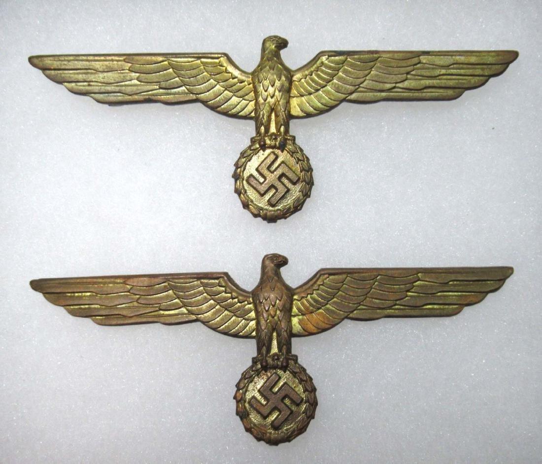 2 German Naval Breast Eagles