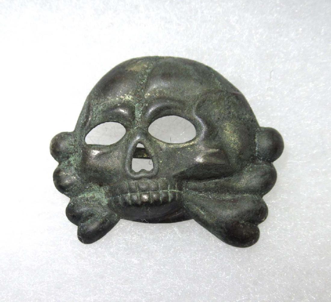 German SS Cap Skull