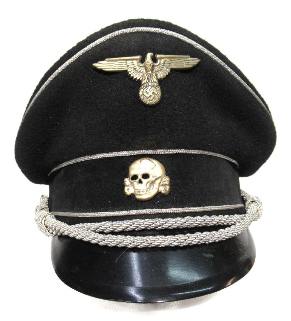 German SS Visor Cap - 2