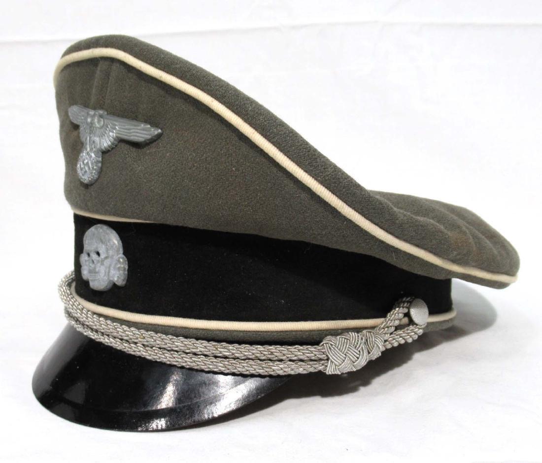 German Waffen SS Visor Cap