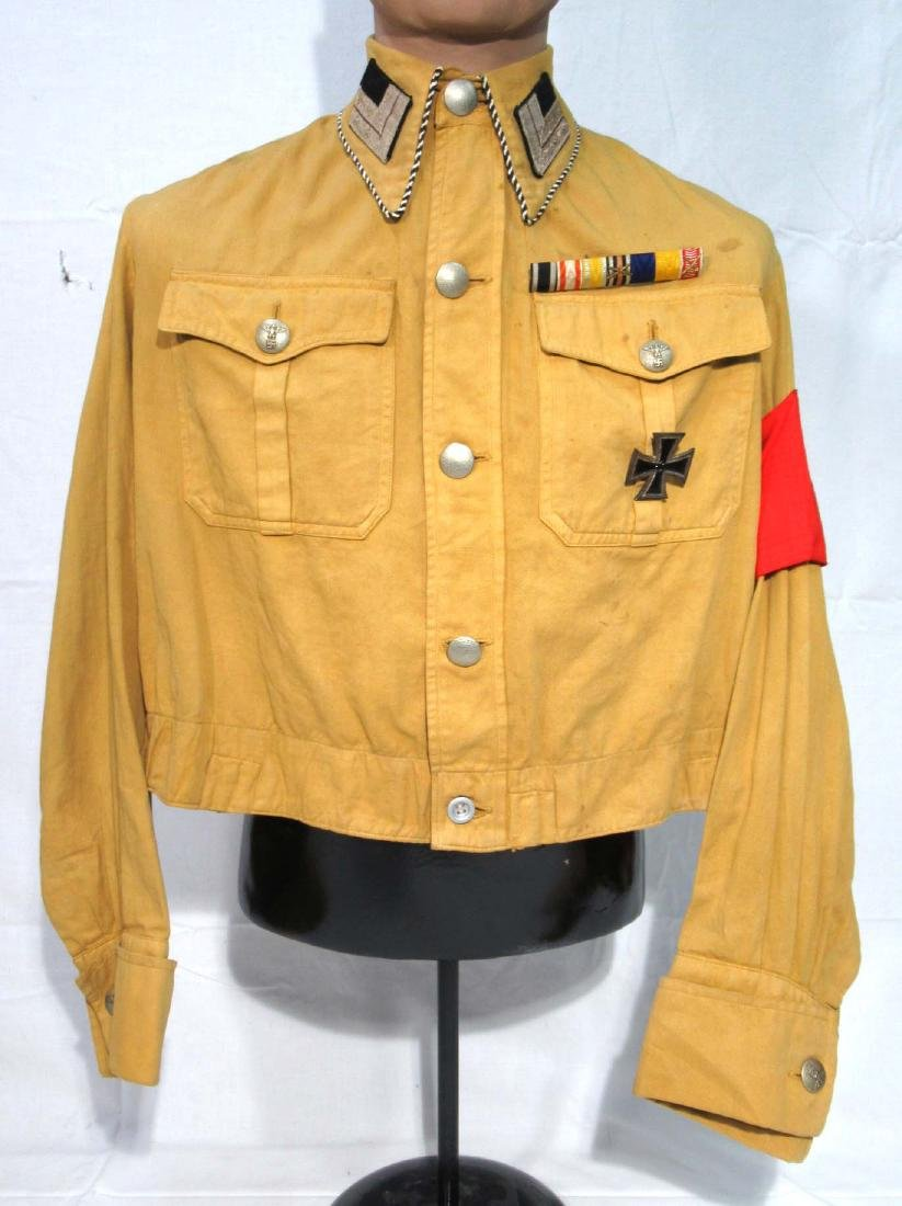 German SA Block Warden's Tunic