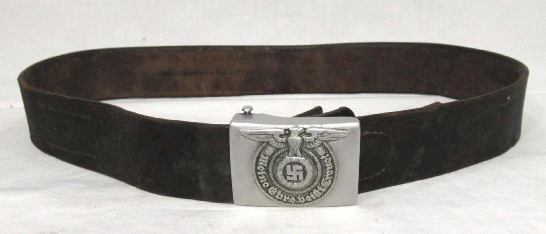 German SS Belt and Buckle