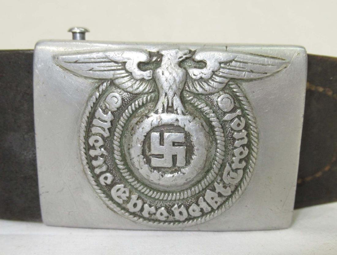 German SS Belt and Buckle - 2