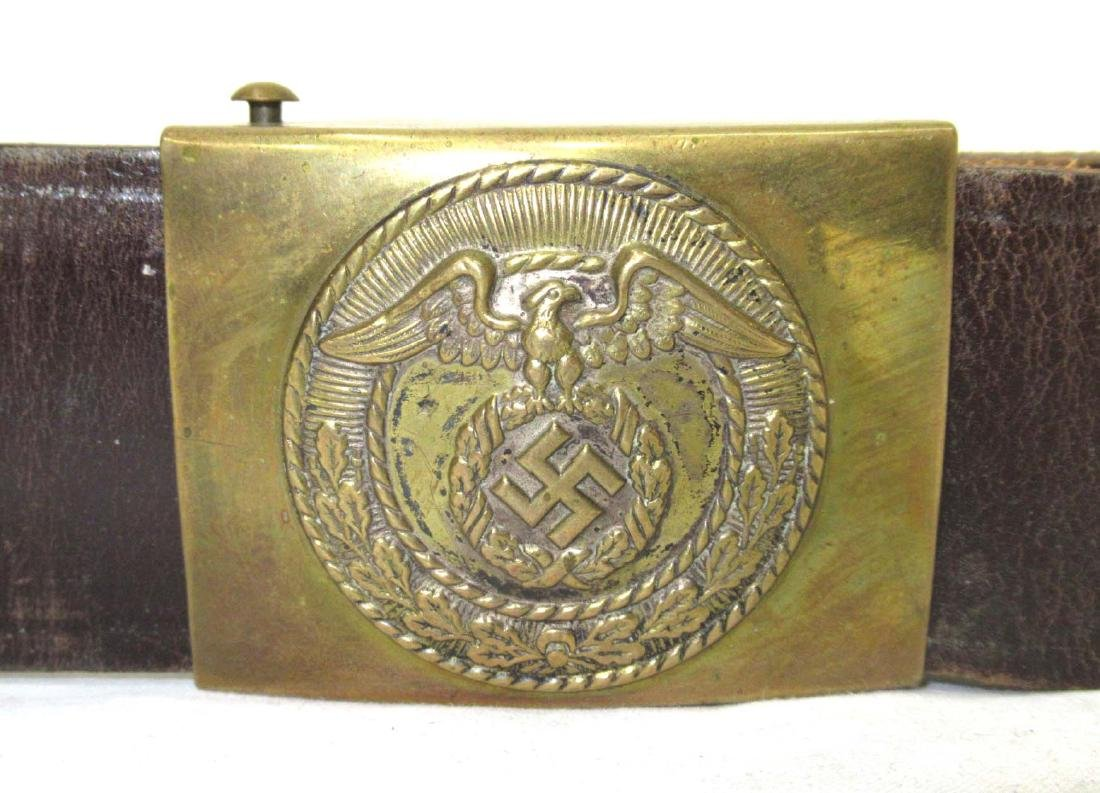 German SA Belt and Buckle` - 2