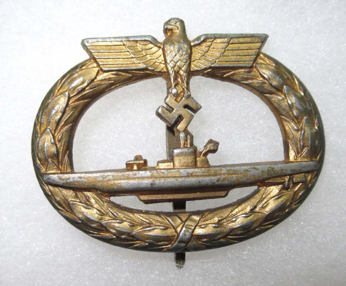 German WW 2 Submarine Badge