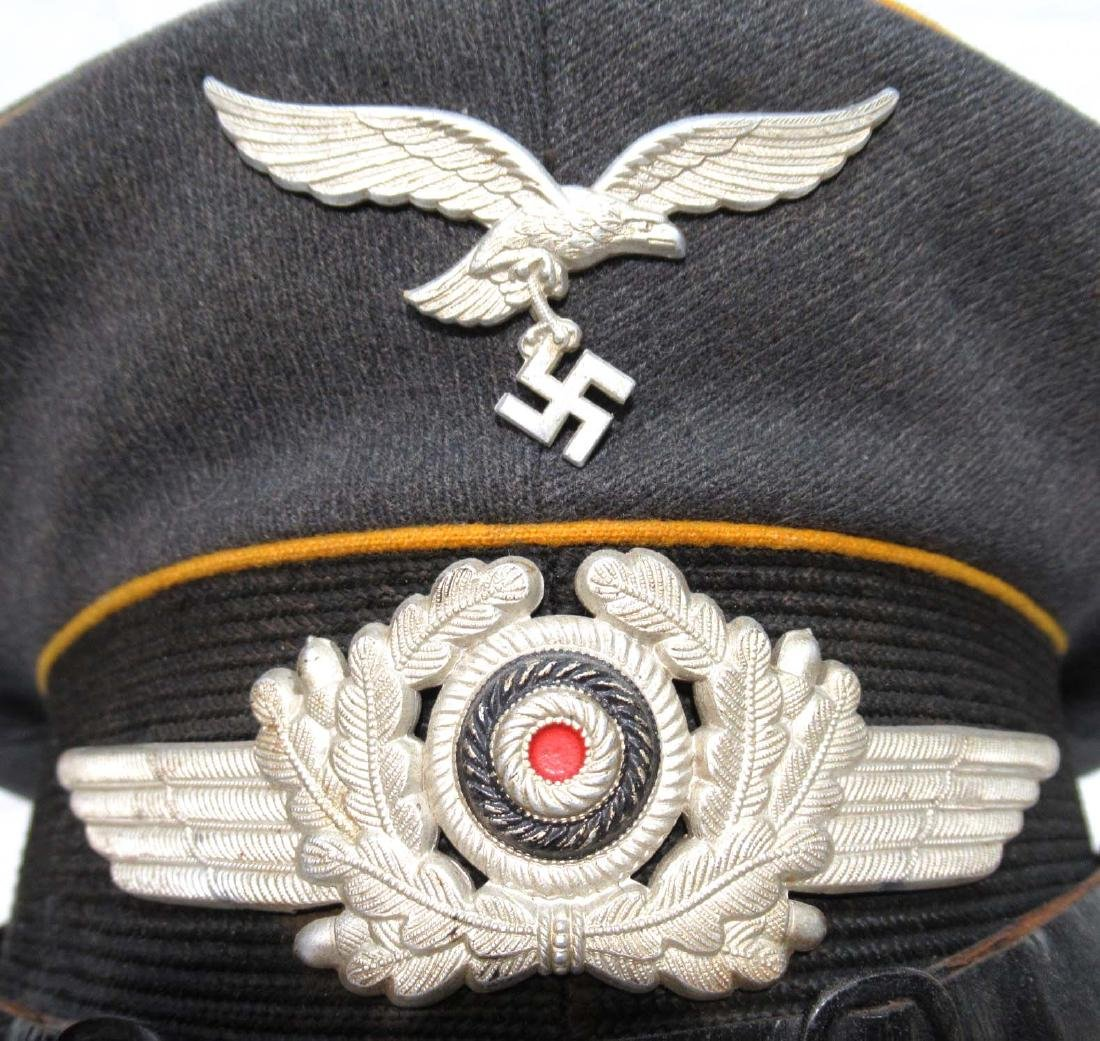 German Luftwaffe Visor Cap - 3