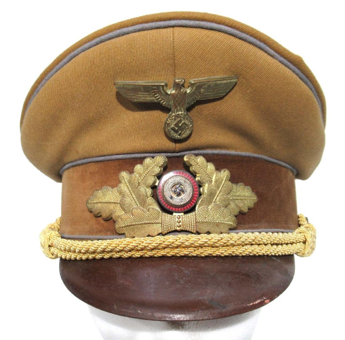 German Political Visor Cap - 2