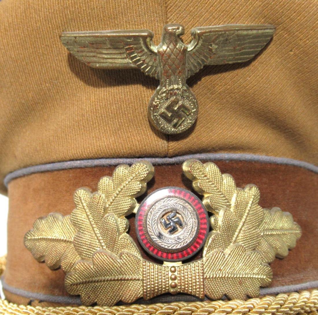 German Political Visor Cap - 3