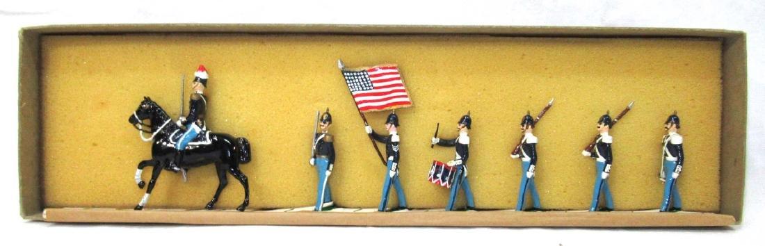7 Lead Soldiers Tenn. Volunteers, Orig. Box