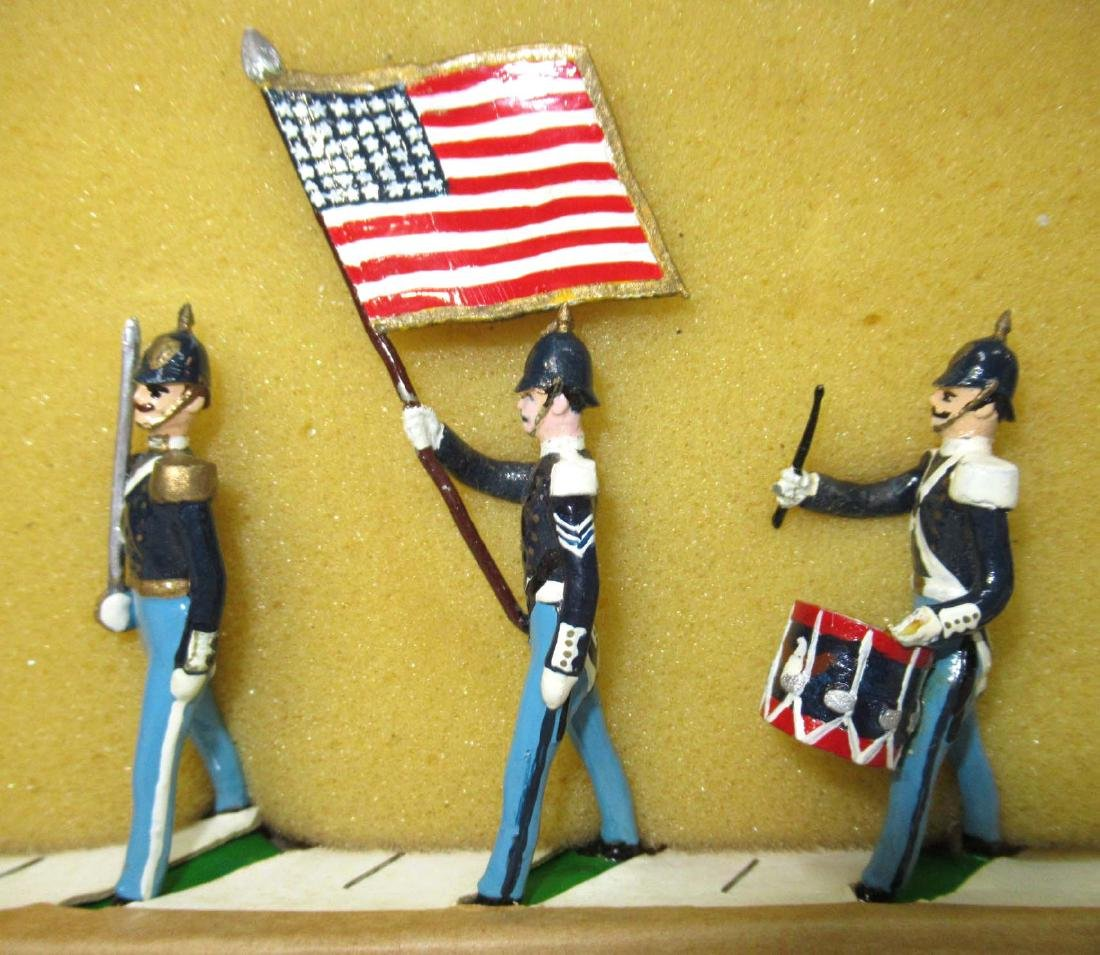 7 Lead Soldiers Tenn. Volunteers, Orig. Box - 3
