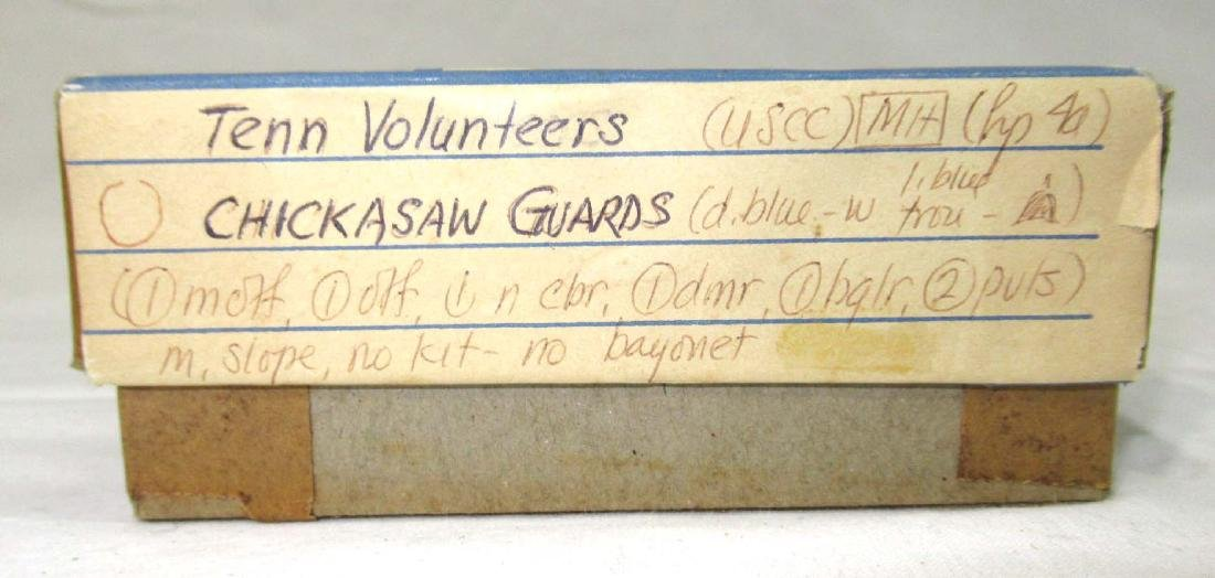 7 Lead Soldiers Tenn. Volunteers, Orig. Box - 4