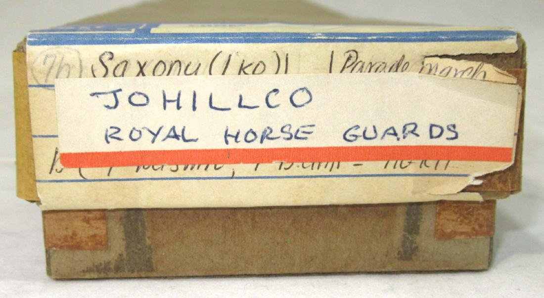 18 Lead Soldiers Scottish Guards, Orig Box - 4