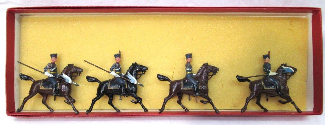 4 Lead Soldiers Cavalrymen