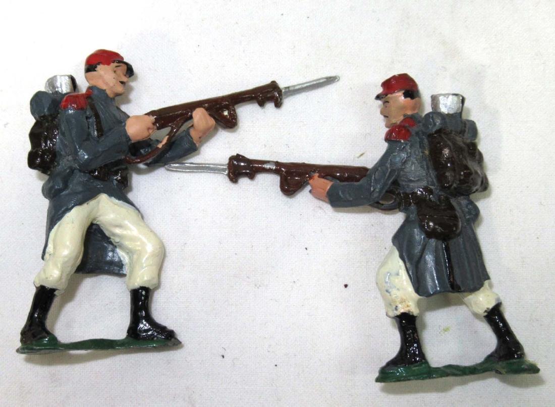 7 Lead Soldiers WW 1 Russian Army, Orig. Box - 2