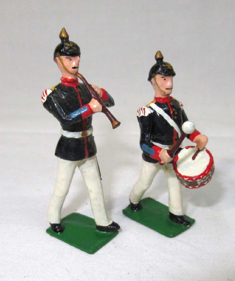 6 Lead Soldiers Drum and Fife - 2